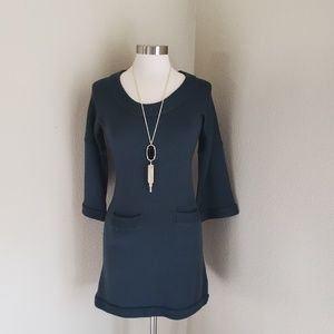 Banana republic 100% extra fine merino wool dress